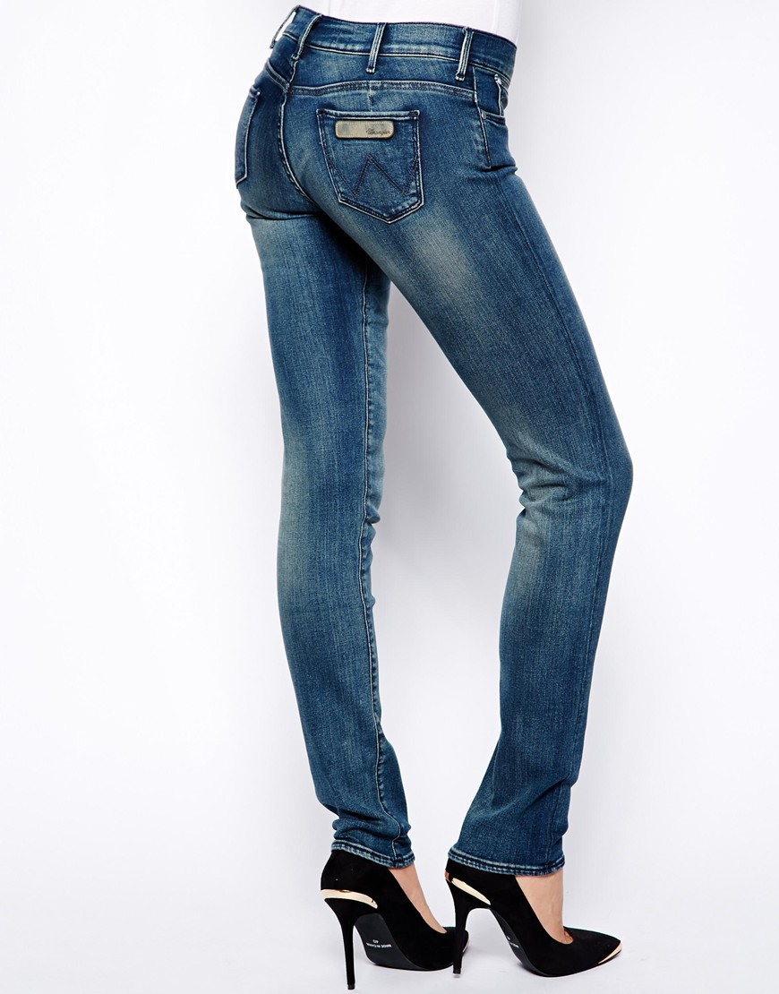 Womens Courtney Skinny Jeans Wrangler Purchase Cheap Discount Prices hN9Yz9X