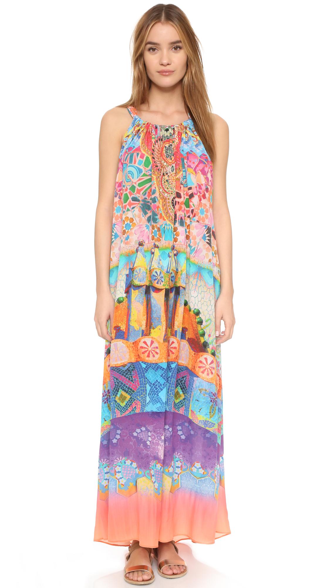 Lyst Camilla Drawstring Dress