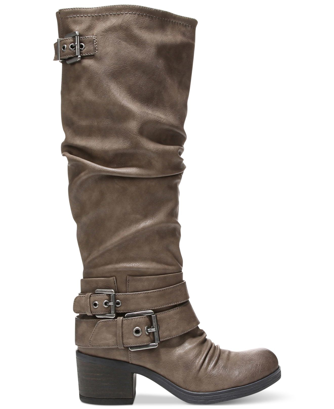 carlos by carlos santana boots in gray taupe lyst