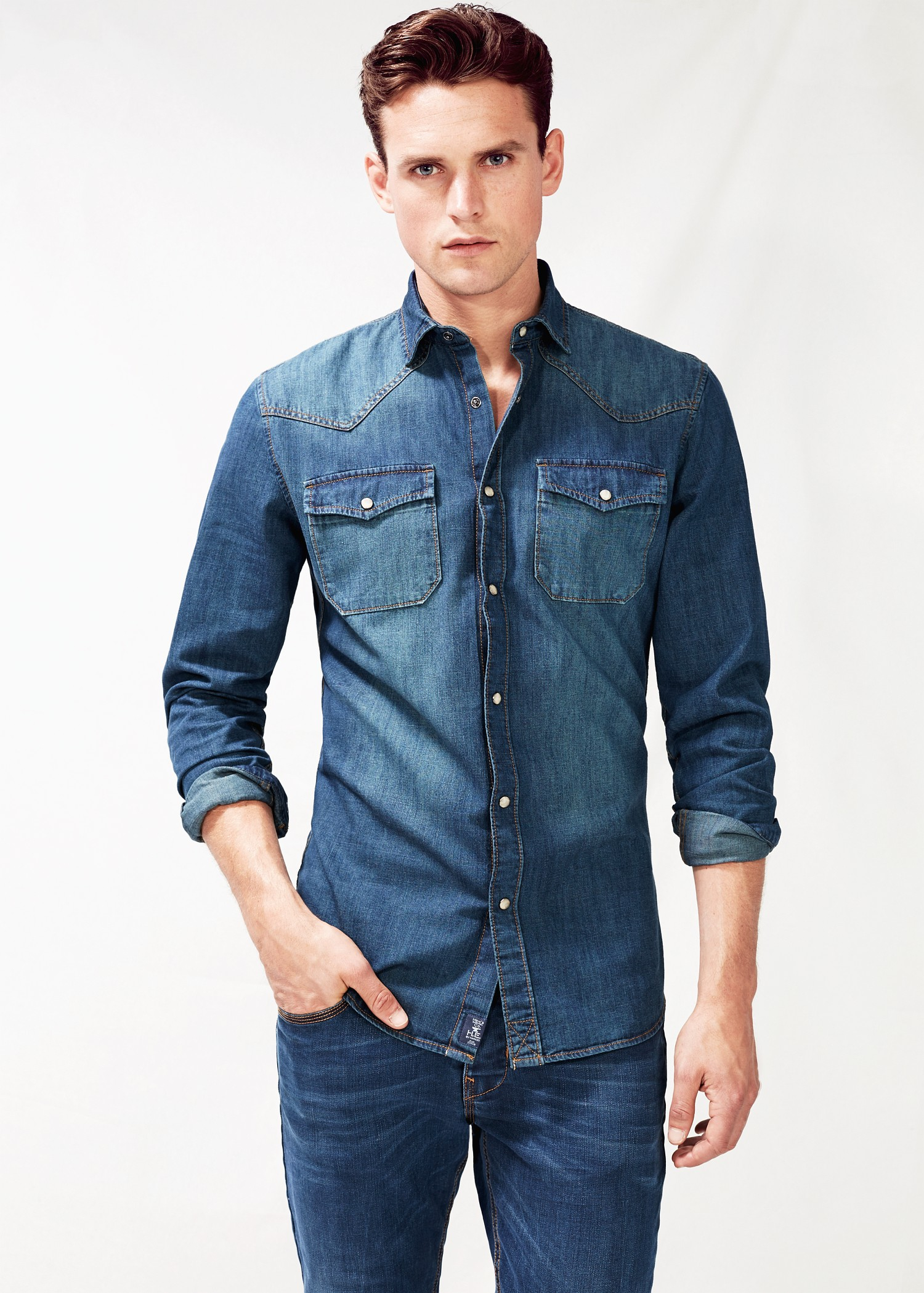 In the category Men Denim Shirts at YOOX you can find pieces from the best brands. Shop online: easy, quick returns and secure payment!