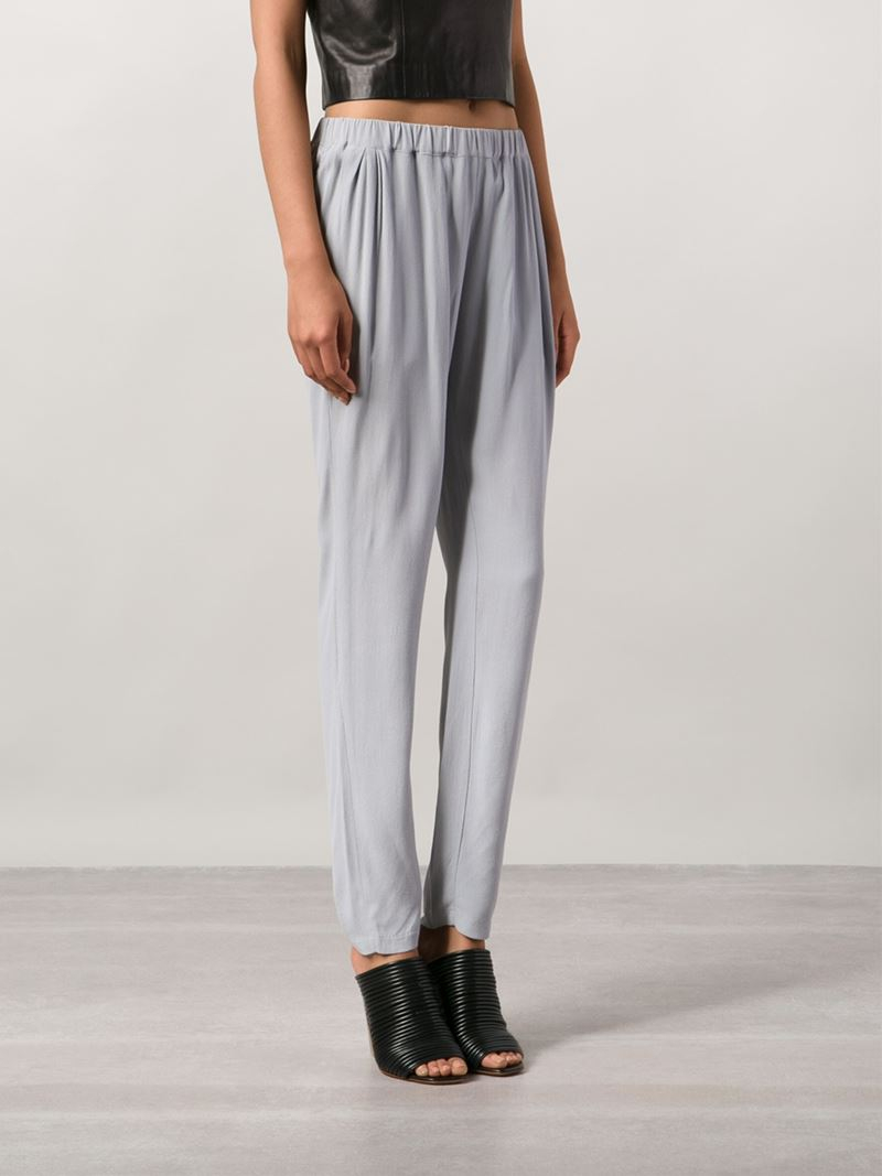 719389a943b Lyst - Just Female  Ivana  Trousers in Gray