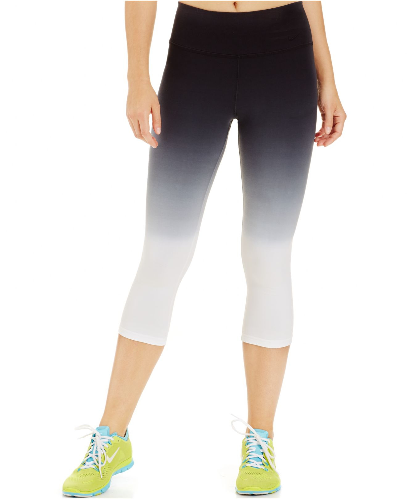 41e62126846eb Nike Legend Sunset Dri-fit Ombre Capri Leggings in Black - Lyst