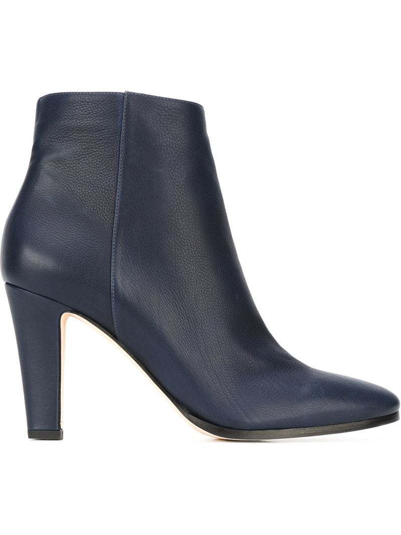 Lyst - Jimmy Choo 'Mass' Ankle Boots in Blue
