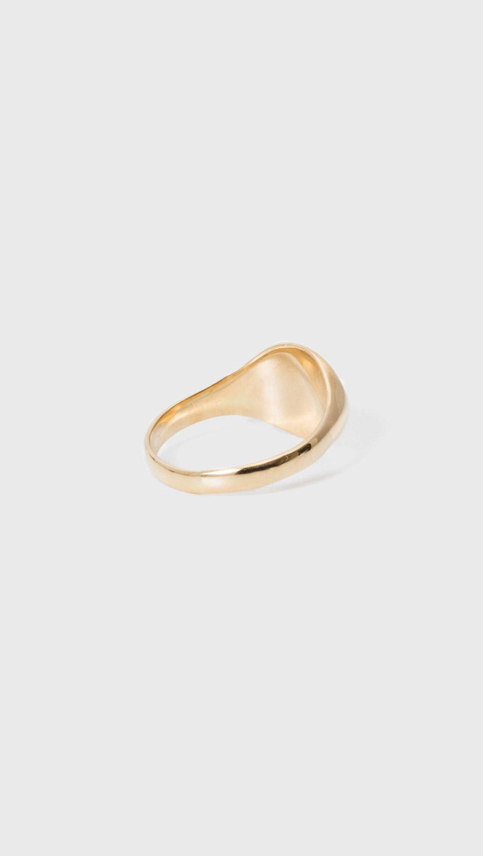 Loren Stewart Mens XL Signet Ring 2UcFxST
