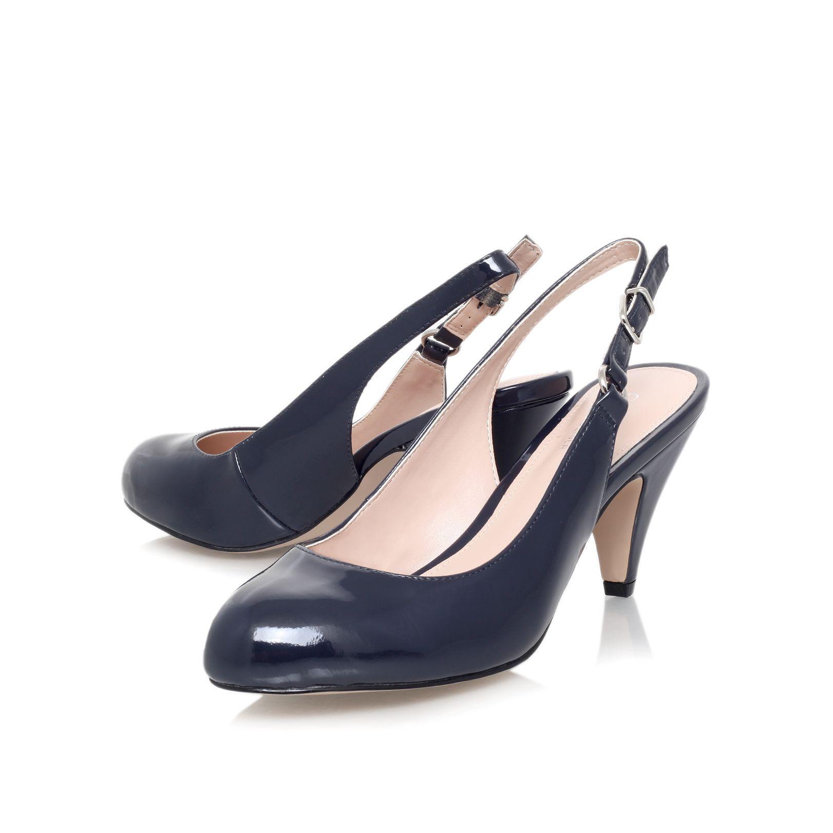 Navy Court Shoes Mid Heel Australia