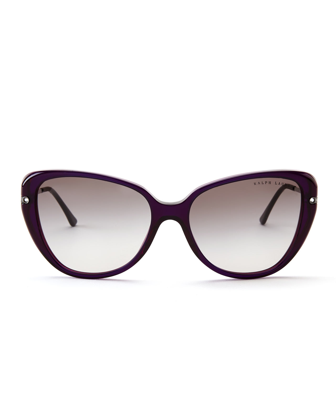 Cat Eye Sunglasses Ralph Lauren  ralph lauren rl8094 purple cat eye sunglasses in purple lyst