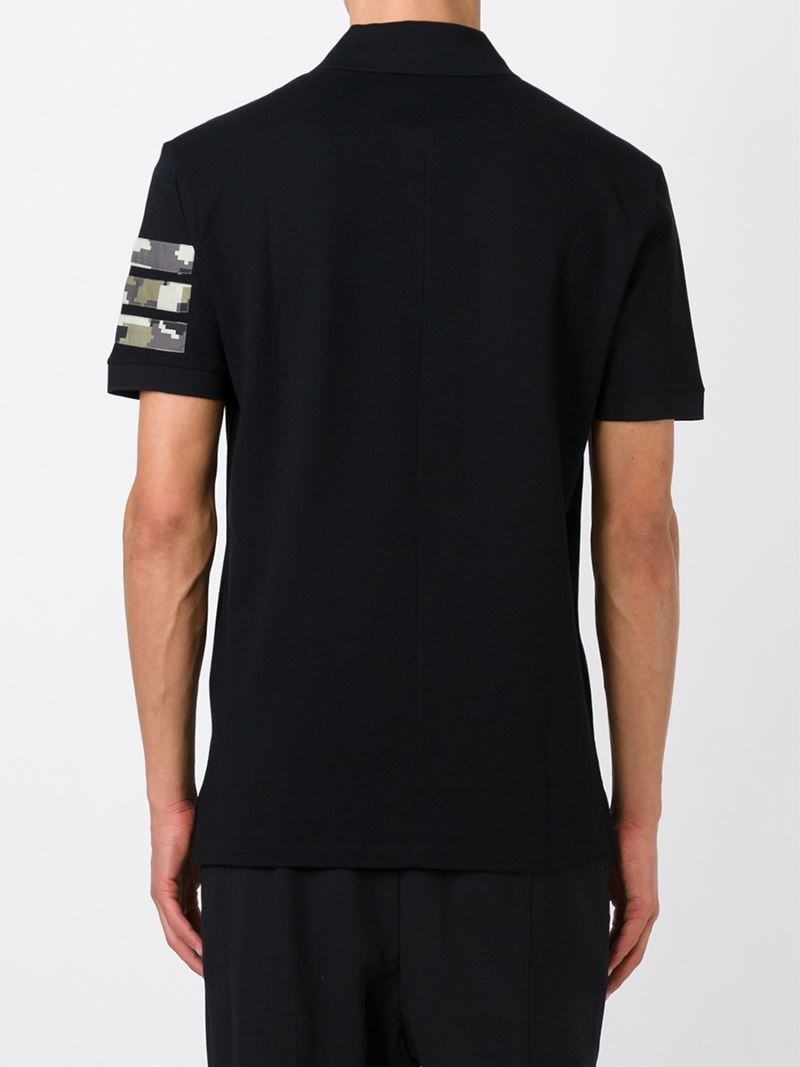 17e79fa0d Givenchy Camouflage-Print Polo Shirt in Black for Men - Lyst