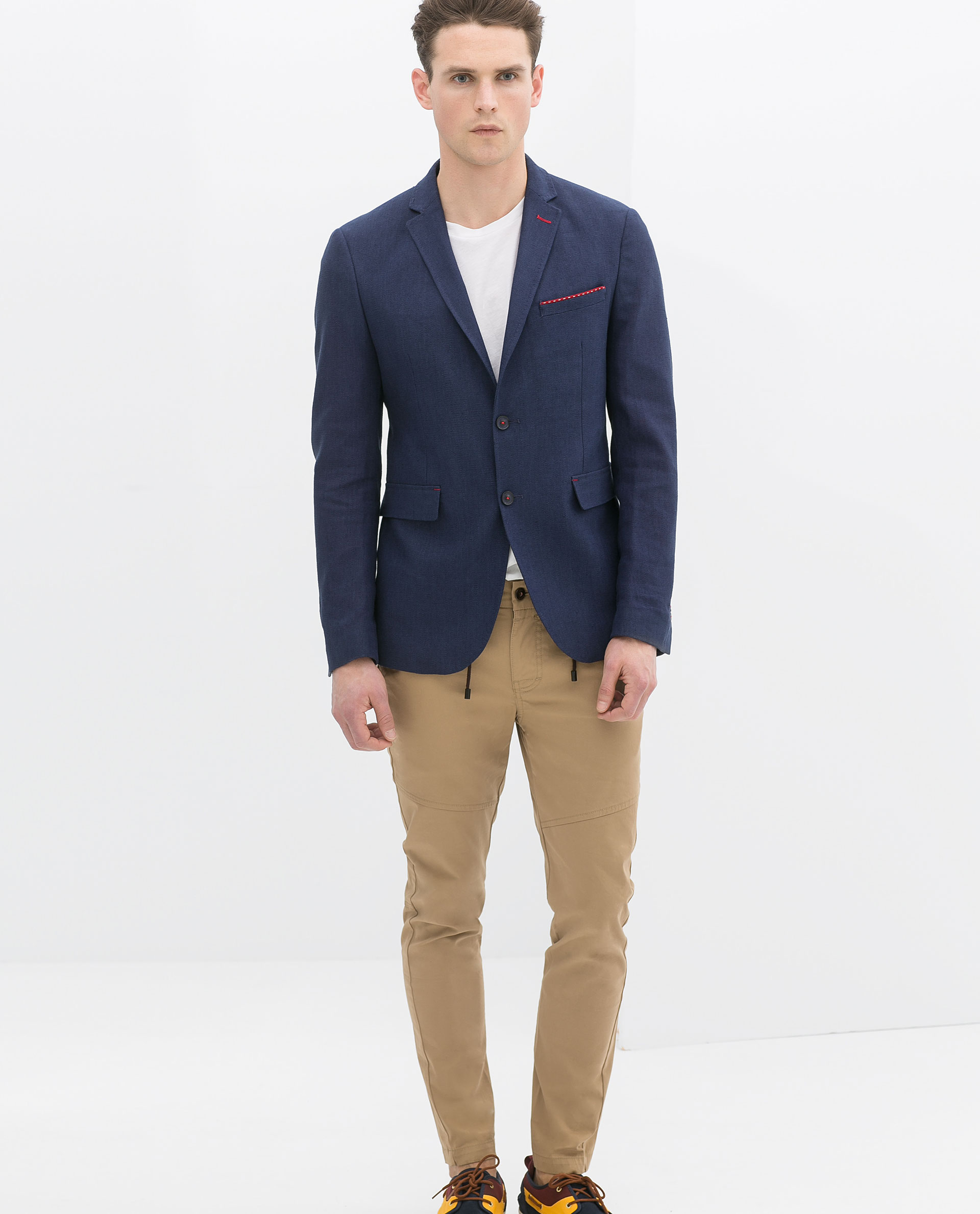 Collection Mens Navy Blue Blazer Pictures - Reikian