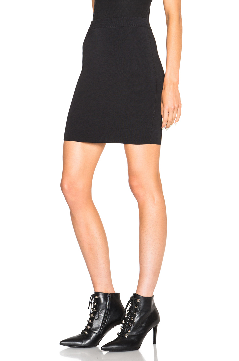 t by wang rayon spandex fitted pencil skirt in