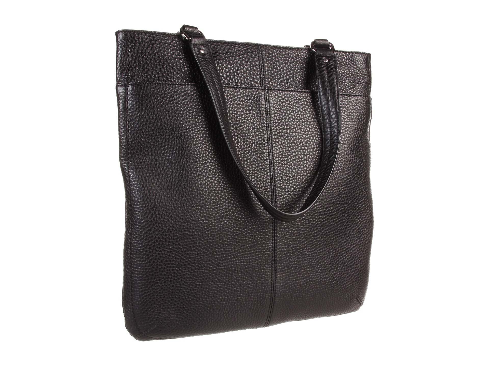 f317fe5a28 Cole Haan Village Flat Tote in Black - Lyst