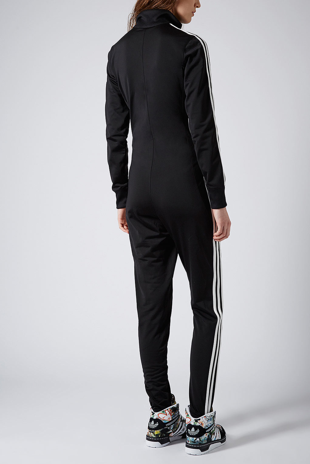 Lyst Topshop All In One By X Adidas Originals In Black