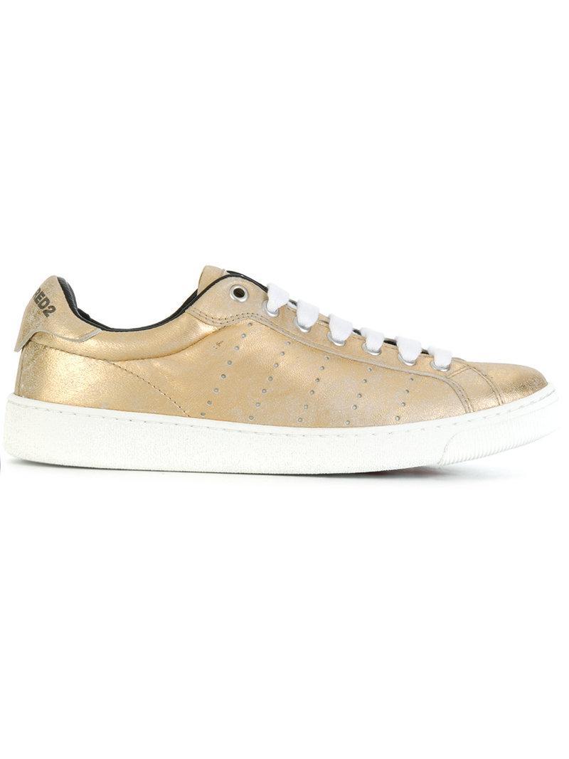 Santa Monica sneakers - Metallic Dsquared2 X1rte4ly