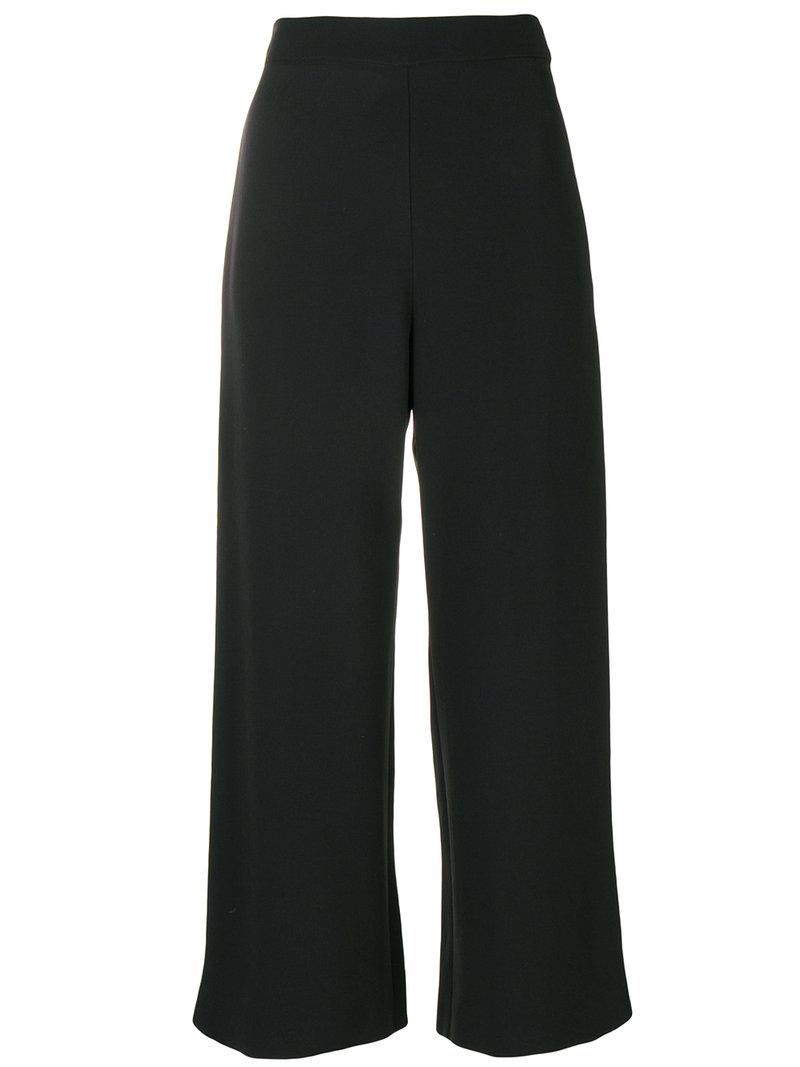 cropped trousers - Black Genny