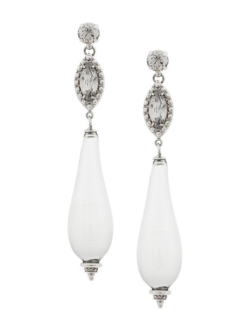 Etro Hoop Earrings in Metallics H55etj3s4