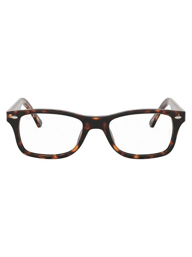 0d8f02e7f5f0c Ray-Ban Armação De Óculos Rb5228 in Brown - Lyst