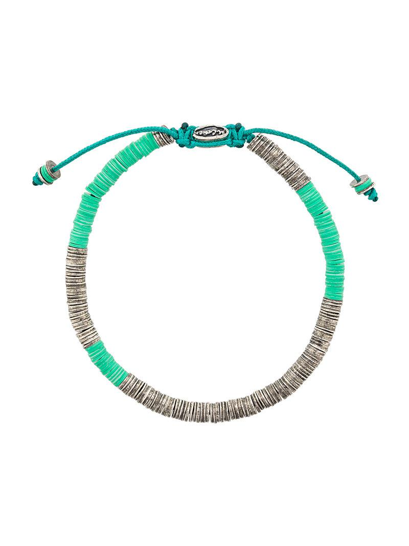 M. Cohen mixed bracelet - Metallic GiYzK46W