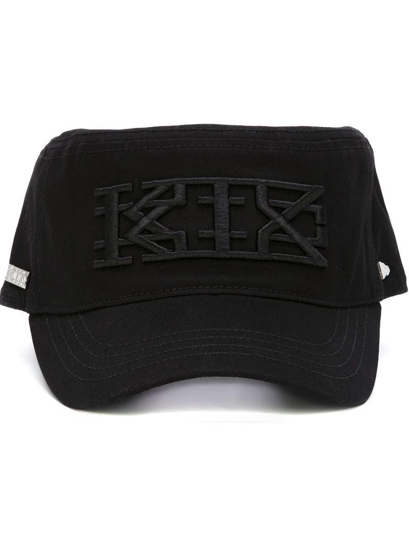 Lyst - KTZ X New Era Embroidered Logo Military Cap in Black 9f9c17b8ed05