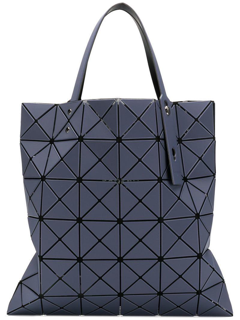 cc5f07765bcb5 Bao Bao Issey Miyake Geometric Tote Bag in Gray - Lyst