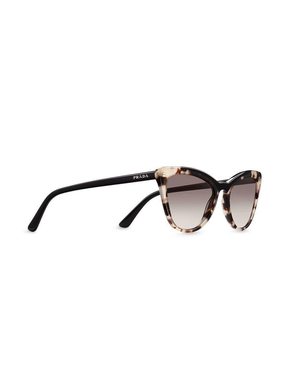 d583ba30d52 Lyst - Prada Ultravox Sunglasses in Black
