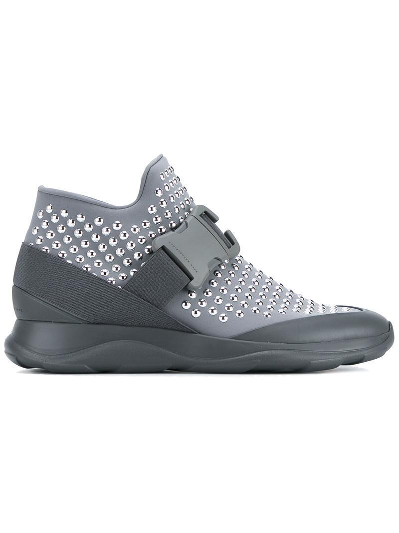 hotfix high-top sneakers - Grey Christopher Kane 6zqDbJPwtJ