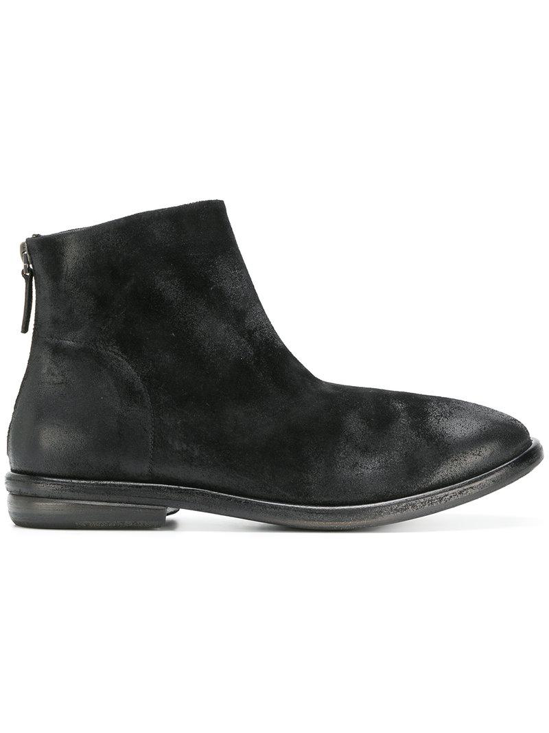 Marsèll Black Tractor Zipped Boots get authentic discount 100% guaranteed yz15HY