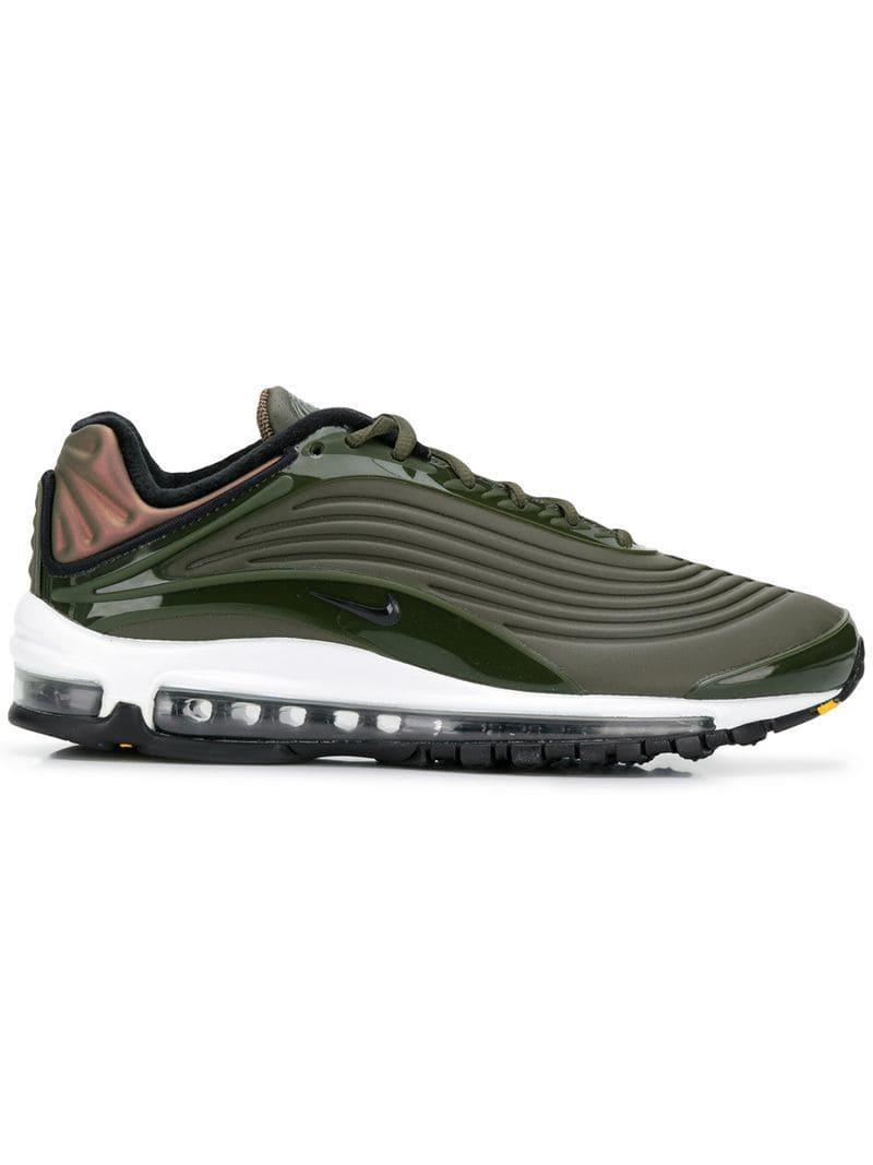 official photos 5e235 6c8ab Nike. Men s Green Air Max 97 Og Sneakers