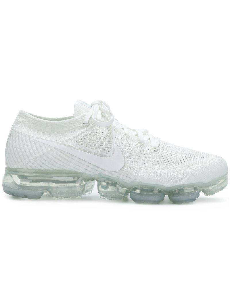 4dba7f13d56e3 Lyst - Nike Air Vapormax Flyknit Sneakers in White for Men
