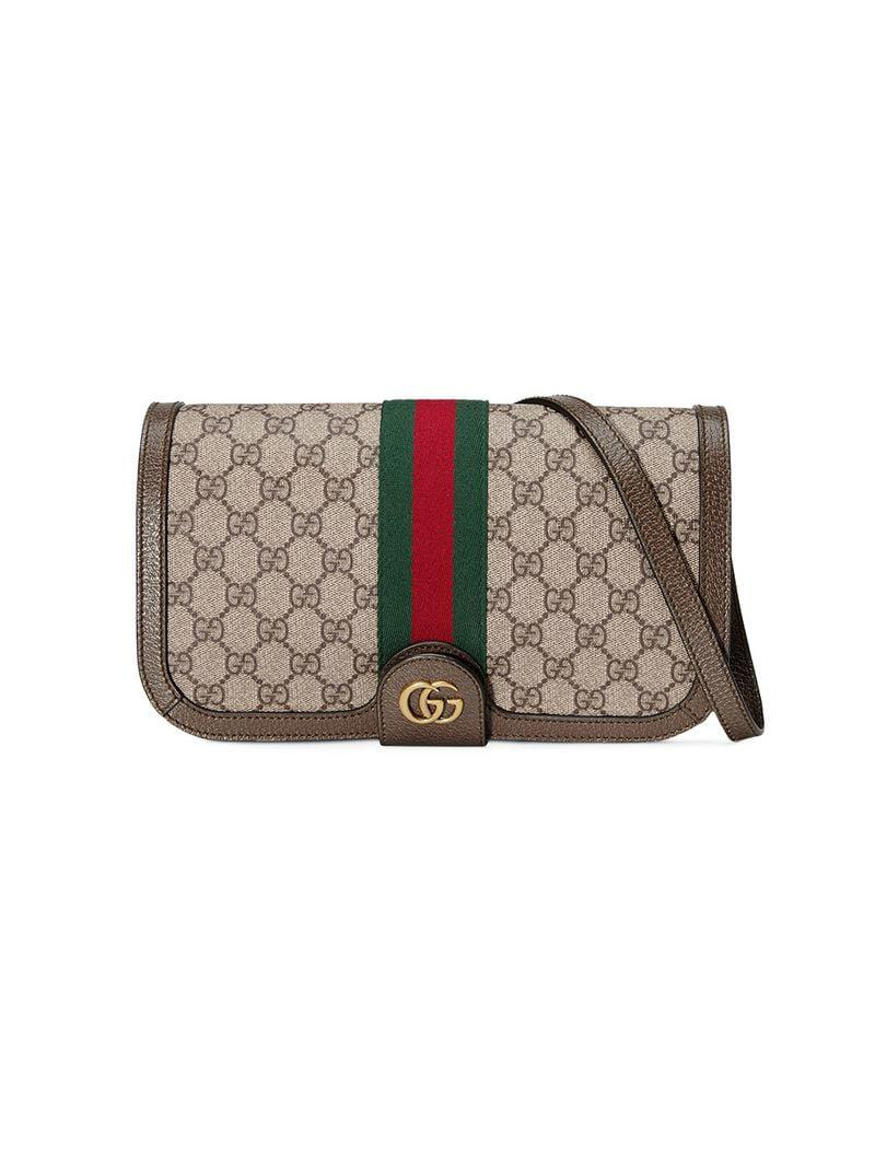 83705769a95 Gucci Ophidia GG Messenger Bag in Brown for Men - Lyst