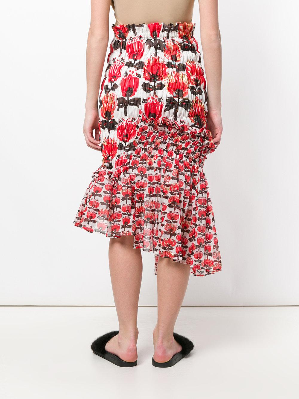 Recommend Online asymmetric high-waisted skirt - Red Tsumori Chisato Sale Shop Offer 98NrDIrw