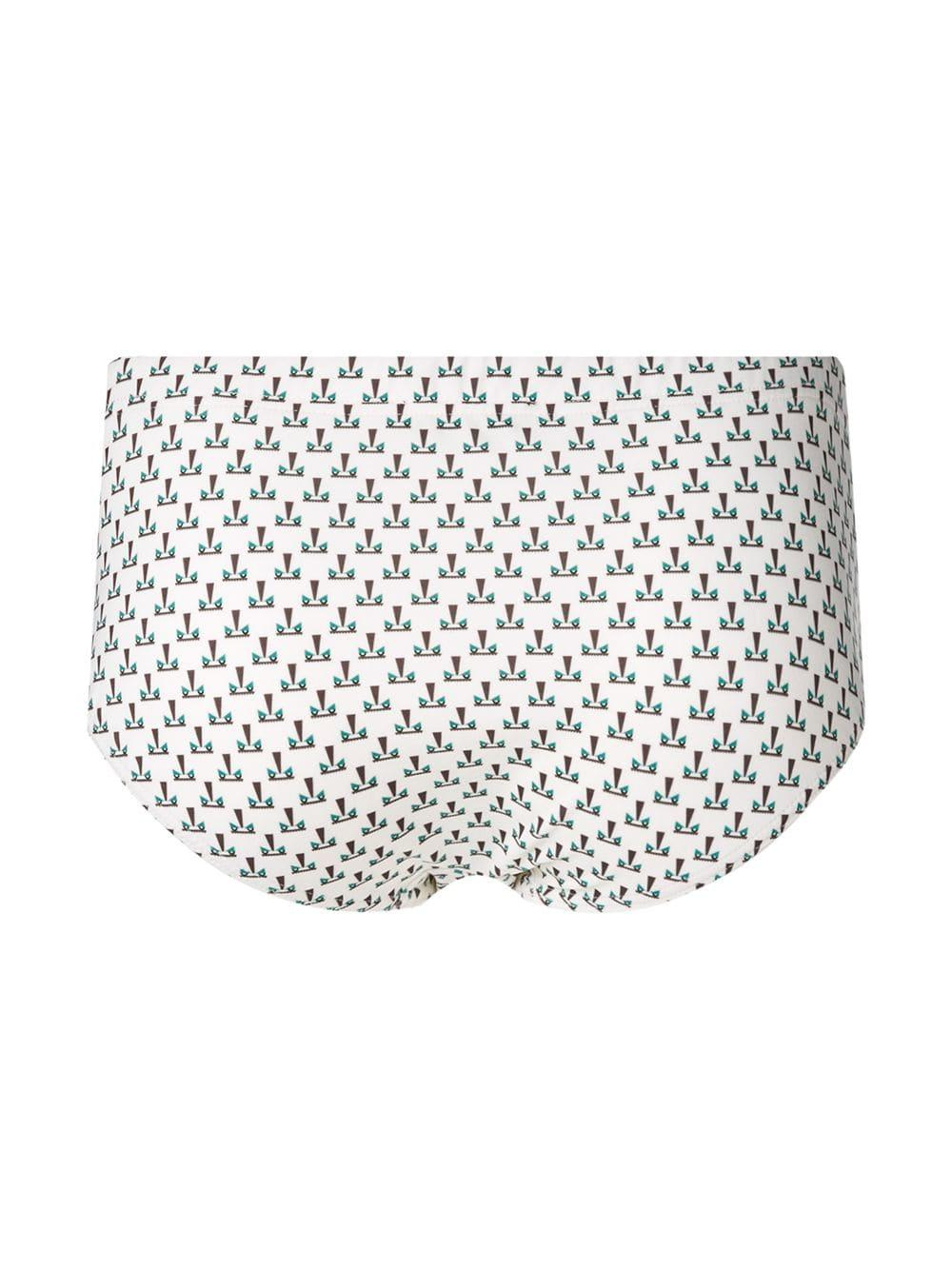a036e87502 Lyst - Fendi Bag Bugs Print Swim Briefs for Men