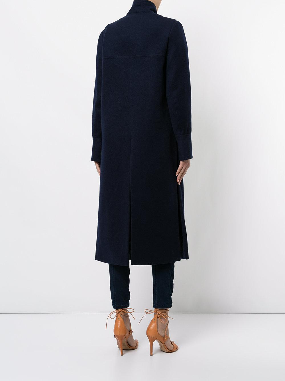 In Cartell Lyst Scapes Cloud Blue Manning Coat XBUUqnTwx