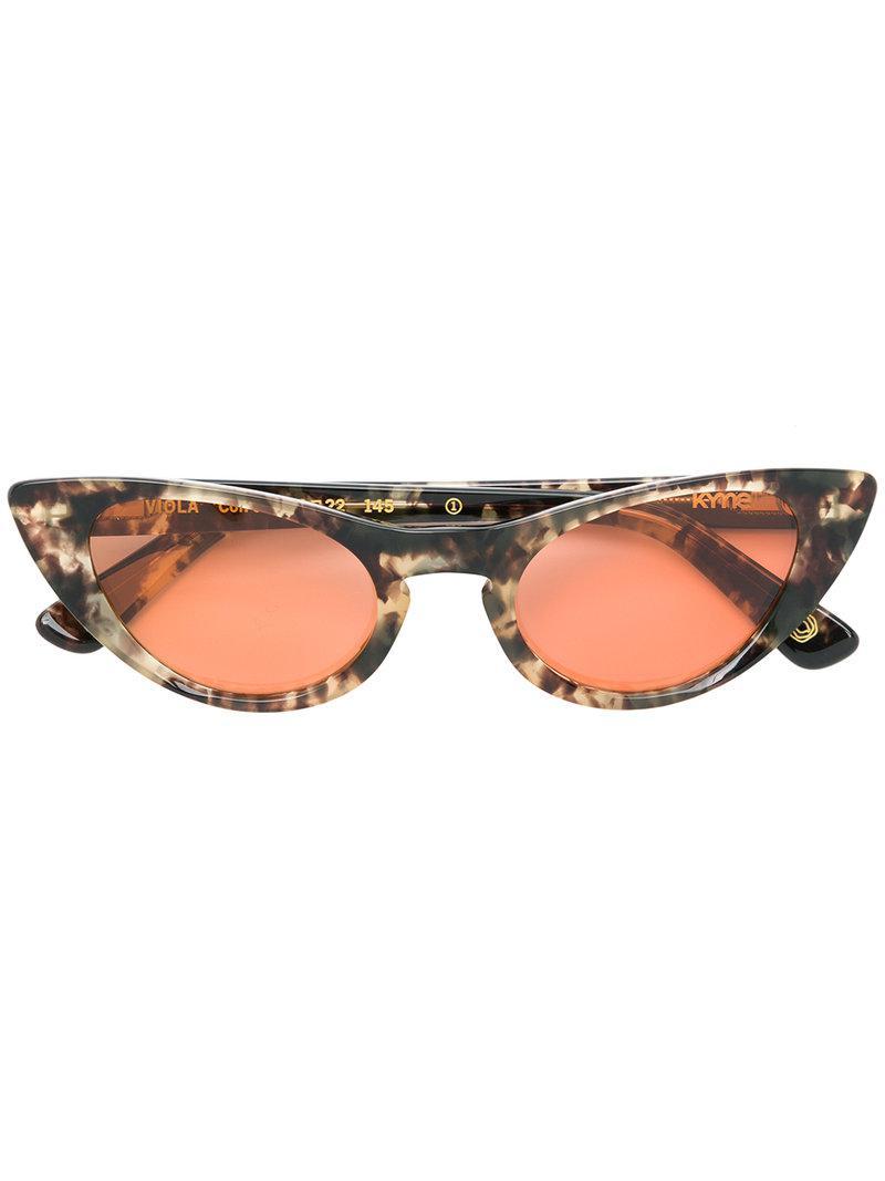 cd42e8a6ac Kyme. Gafas de sol Viola 4 de mujer de color marrón