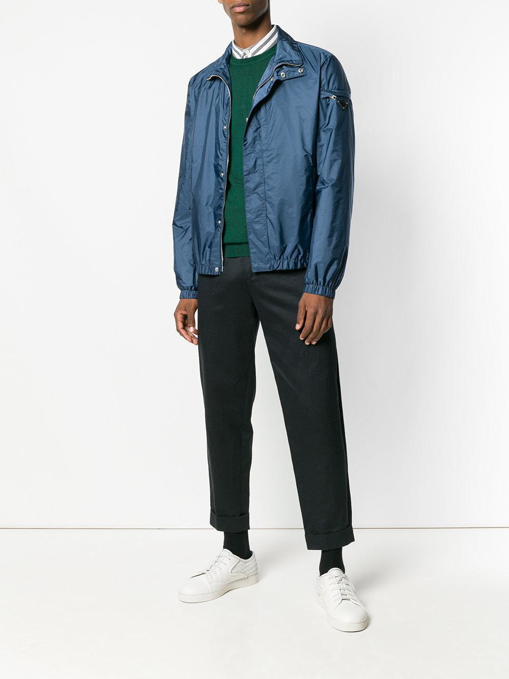 82b28c3534546 Lyst - Polo Ralph Lauren Classic Fit Jumper in Green for Men