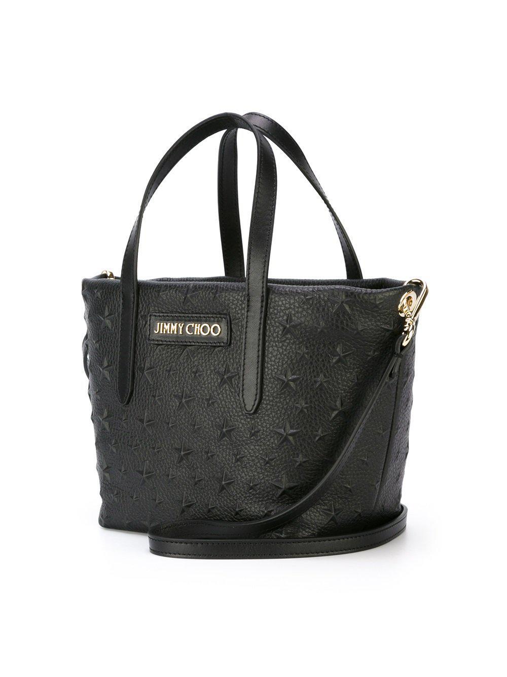 8fde1f7f1b5 Jimmy Choo Mini 'sara' Crossbody Bag in Black - Lyst
