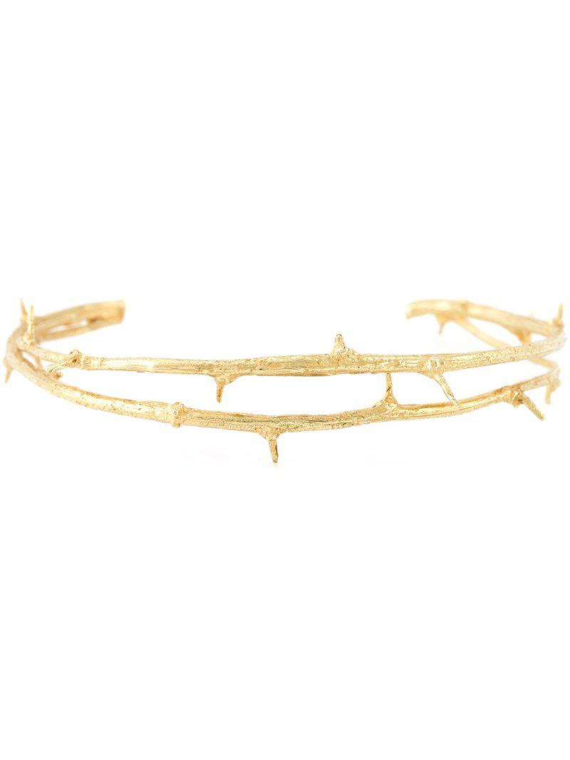 Wouters & Hendrix Gold 18kt gold Thorn bracelet Clearance Shop Offer Discount Footlocker Finishline Outlet Get Authentic yW6bLFuN