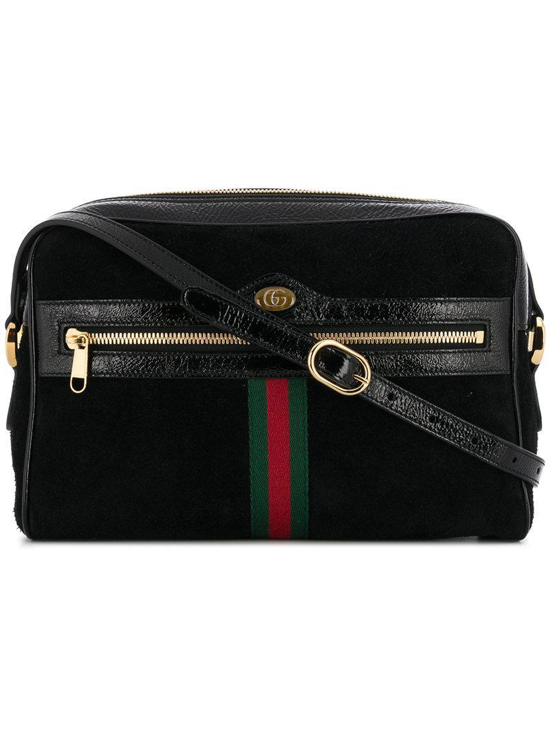 Lyst - Gucci Ophidia Shoulder Bag in Black - Save 39% ec6ffff54f190