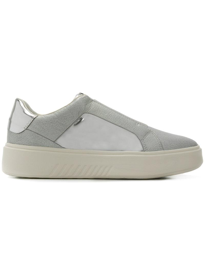 Kookean sneakers - Metallic Geox Discount Low Cost Shopping Online Cheap Online Cheap With Mastercard Fast Delivery For Sale Lowest Price xMEBuCCel