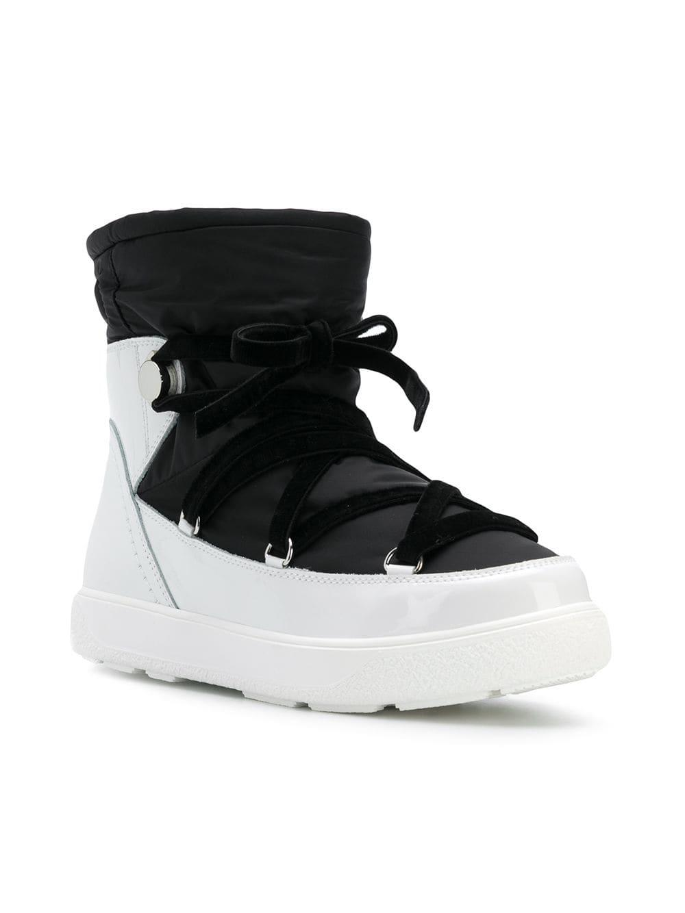b8f2ddff87a0 Lyst - Moncler Platform Snow Boots in Black - Save 68.31168831168831%