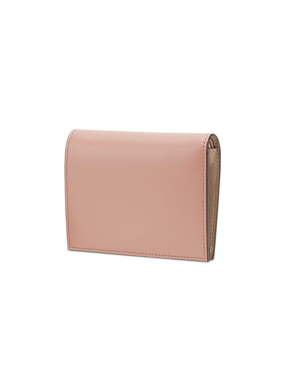 ff822800d743 Fendi By The Way Compact Wallet in Pink - Save 16% - Lyst