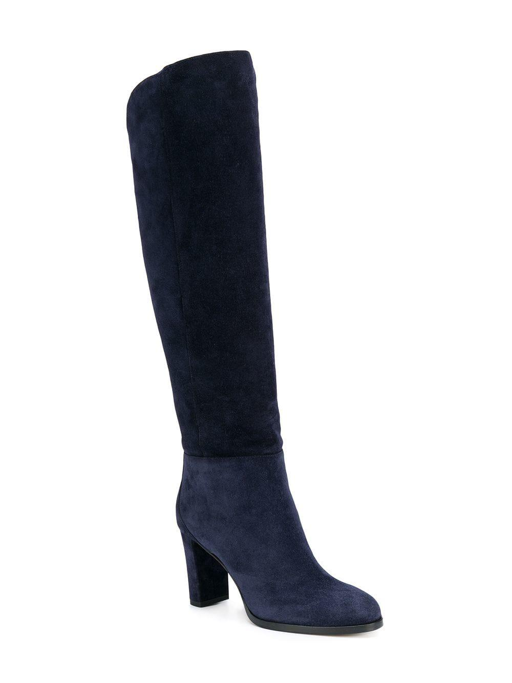 998666730e73 Lyst - Jimmy Choo Madalie 80 Boots in Blue - Save 50%
