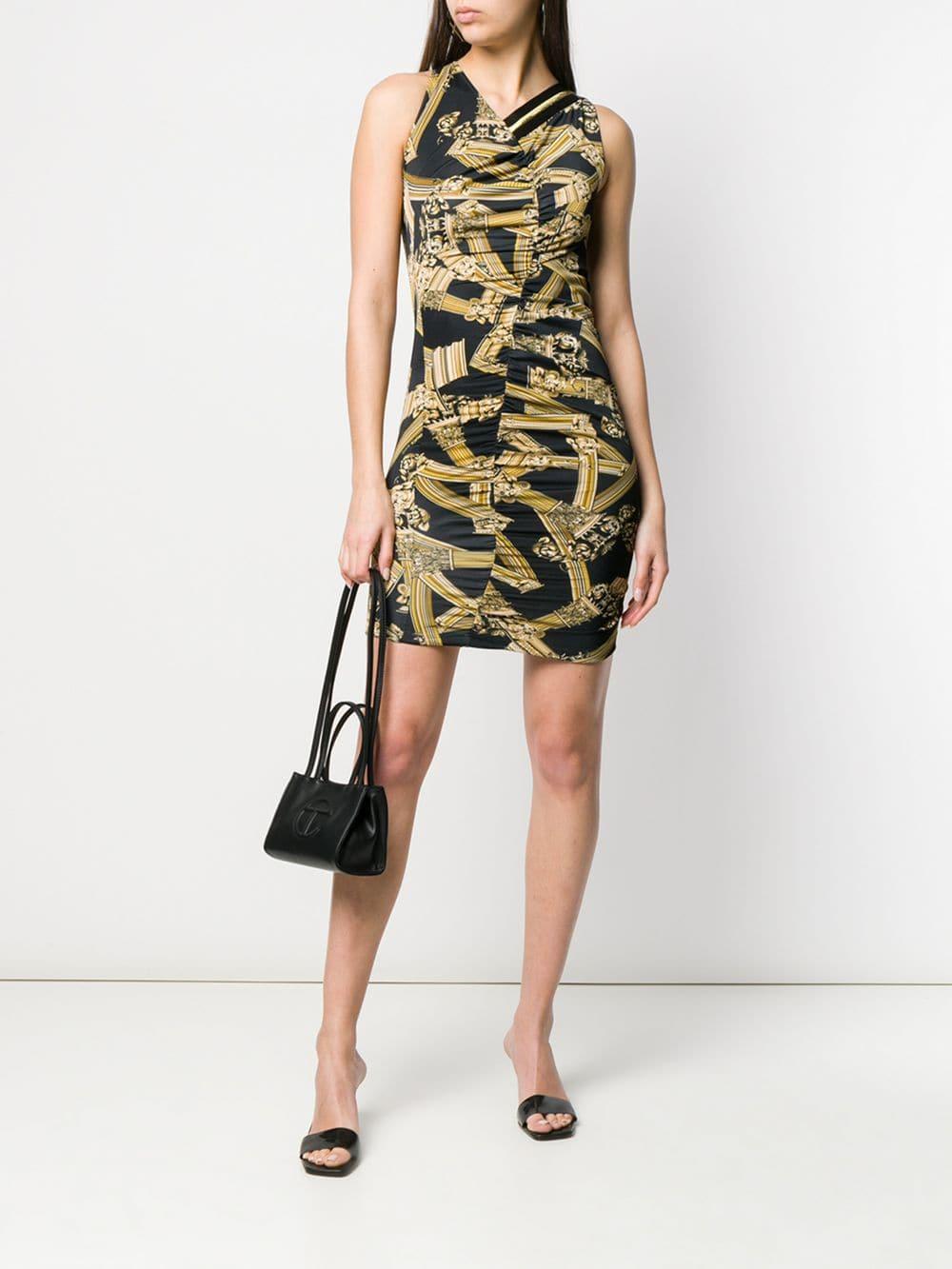 8c21eb891f Versace Jeans Bodycon Dress | Saddha