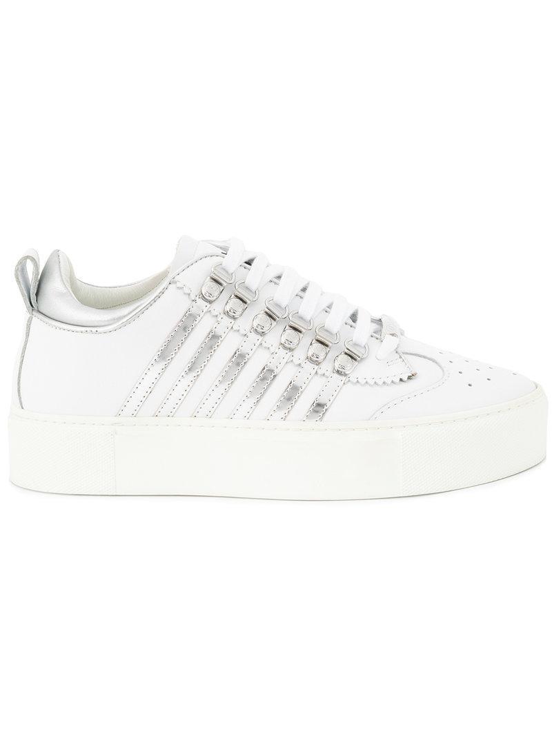 Barney sneakers - Metallic Dsquared2 YAk0T
