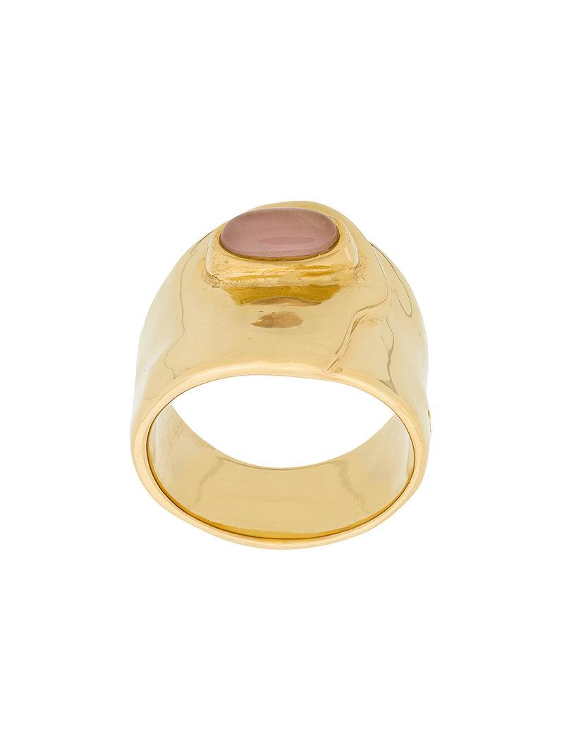 Ana ring - Metallic Aurélie Bidermann