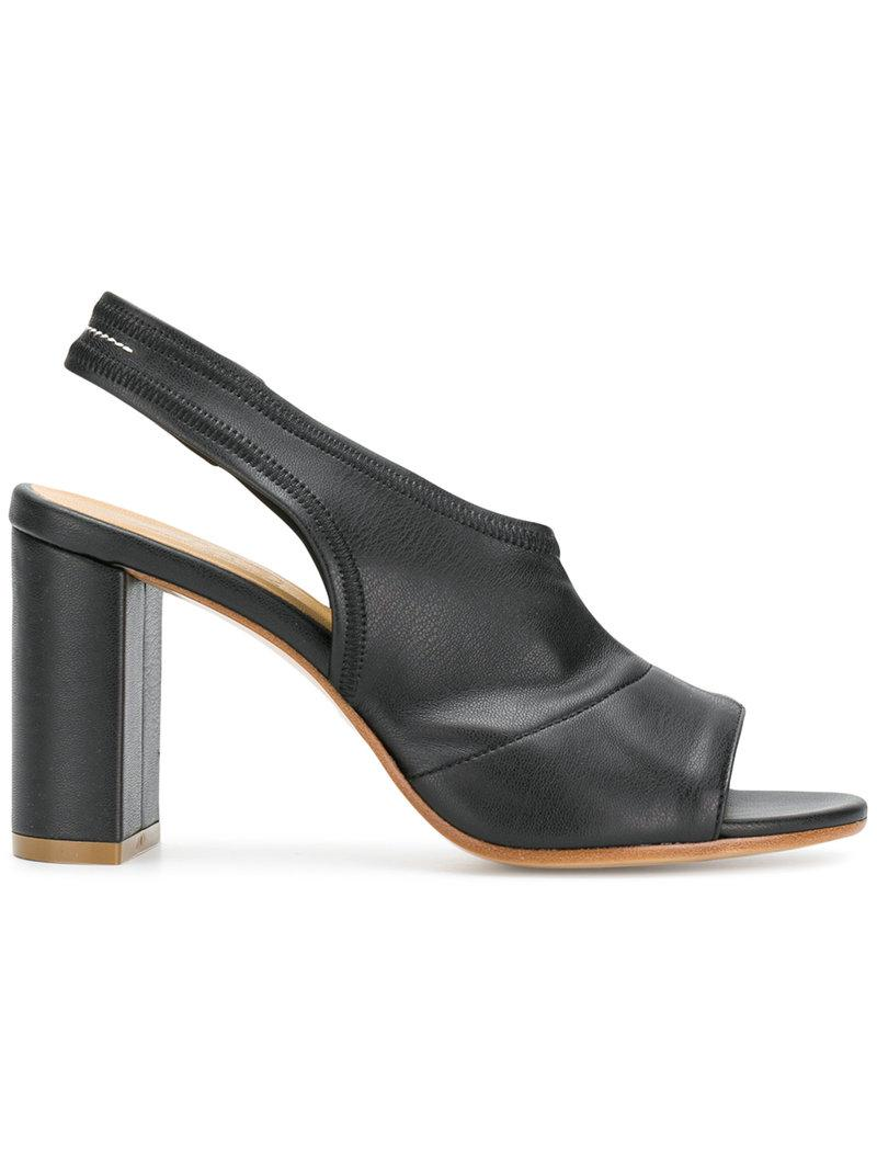 MM6 MAISON MARGIELA Peep toe slingback sandals lSUXsI