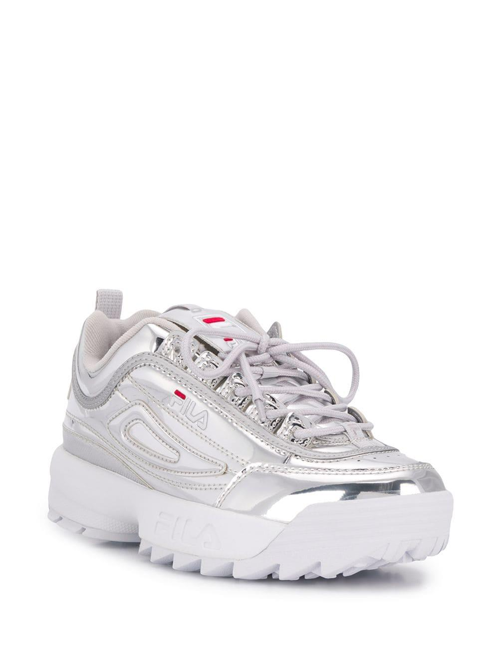 83f9e5d4952e Lyst - Fila Disruptor Sneakers in Metallic