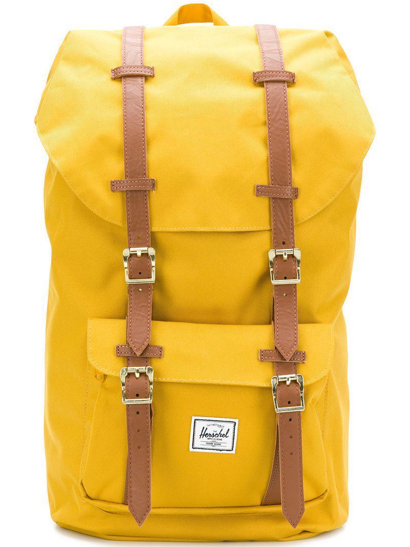 Lyst - Herschel Supply Co. Buckle Fastening Backpack for Men 2d66074606