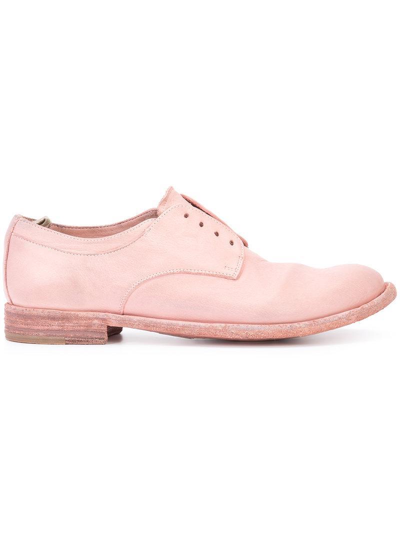 Lexikon laceless Derby shoes - Pink & Purple Officine Creative tBpYRQZ