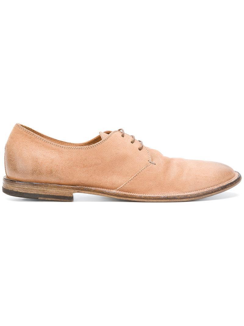 Pantanetti Chaussures À Lacets En Détresse - Brun xOE52I8mT