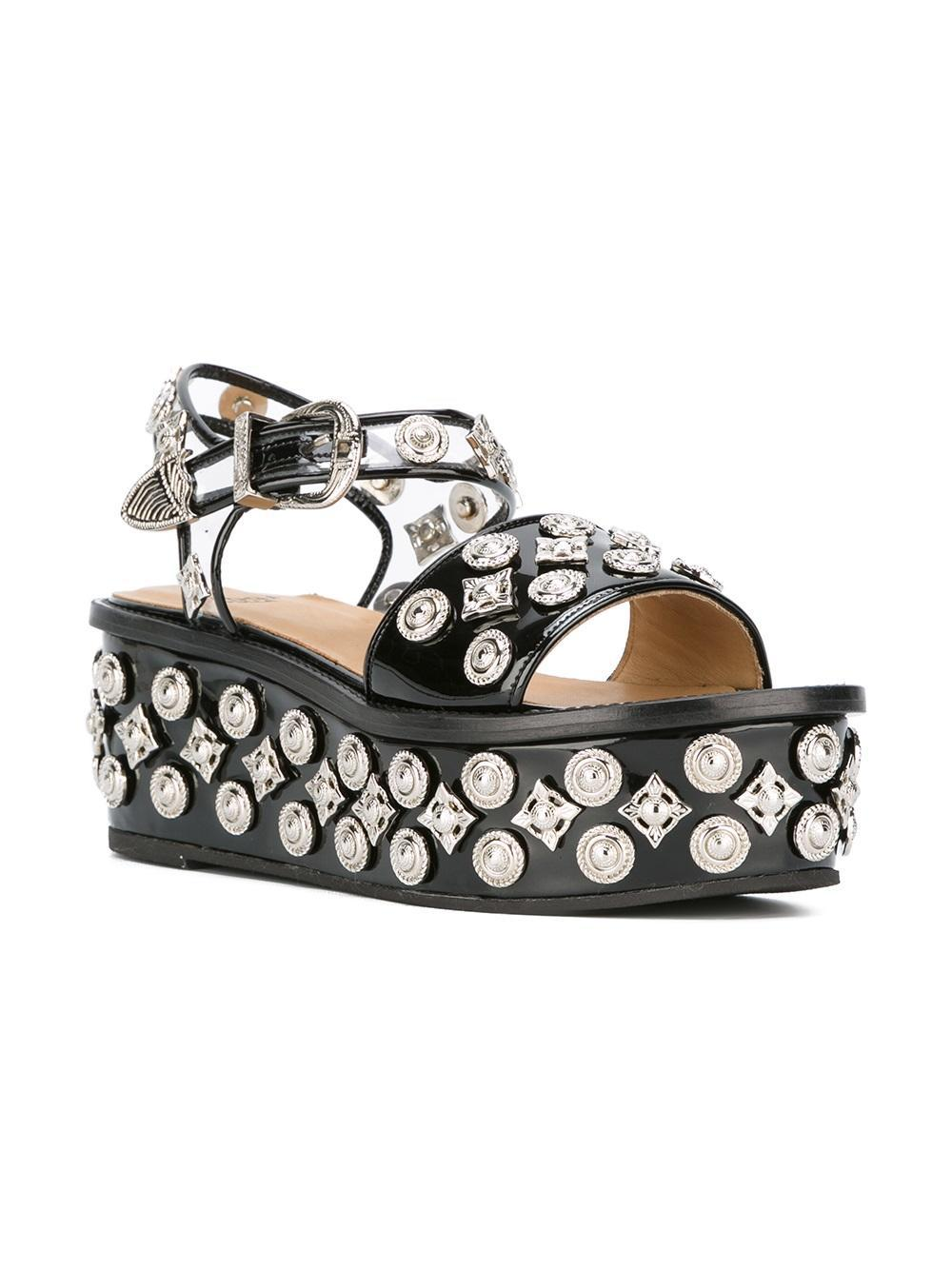 Toga Pulla studded platform sandals clearance best store to get sale limited edition 2014 newest clearance official site cK45qkn13