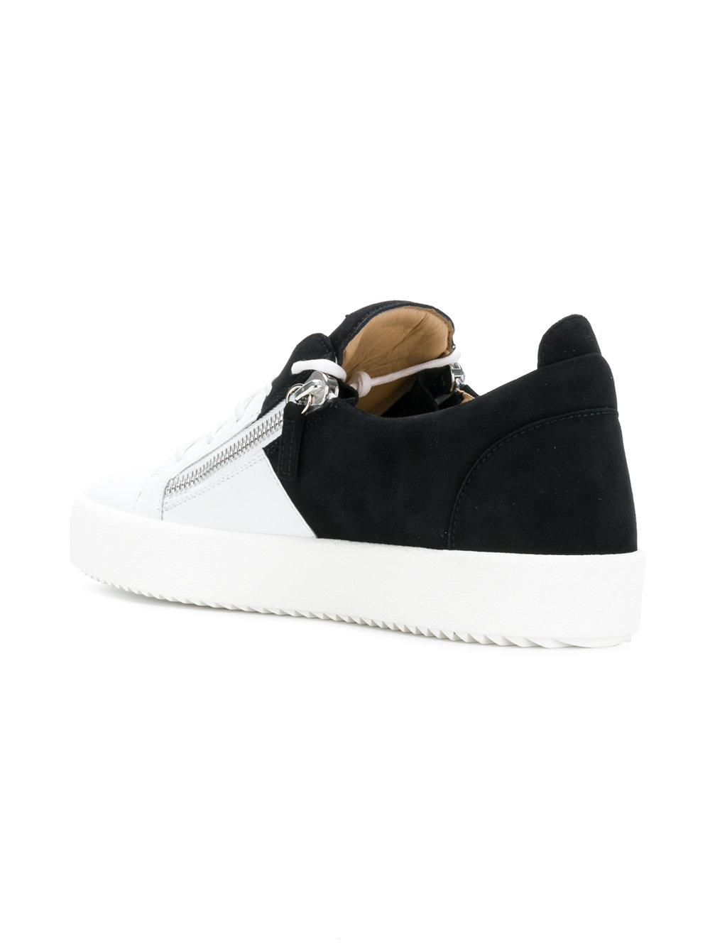 d85099e1da7 Giuseppe Zanotti - White Bicolour May London Sneakers for Men - Lyst. View  fullscreen